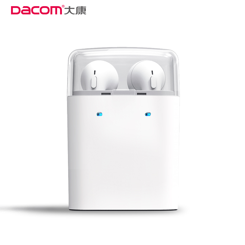 Dacom True Wireless Earphones TWS Earbuds Bluetooth Stereo Music Headset Mobile Phone Earpiece Headsfree For iPhone Samsung dacom tws 7s true wireless bluetooth headset mini bluetooth 4 2 wireless earpiece earbuds in ear earphone for iphone 7 android