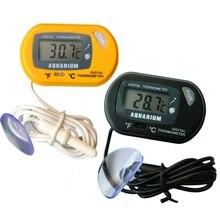 1PC Digital LCD Screen Sensor Aquarium Thermometer Wired Aquarium Fish Tank Temp Meter Electronic Temperature Measurement цены