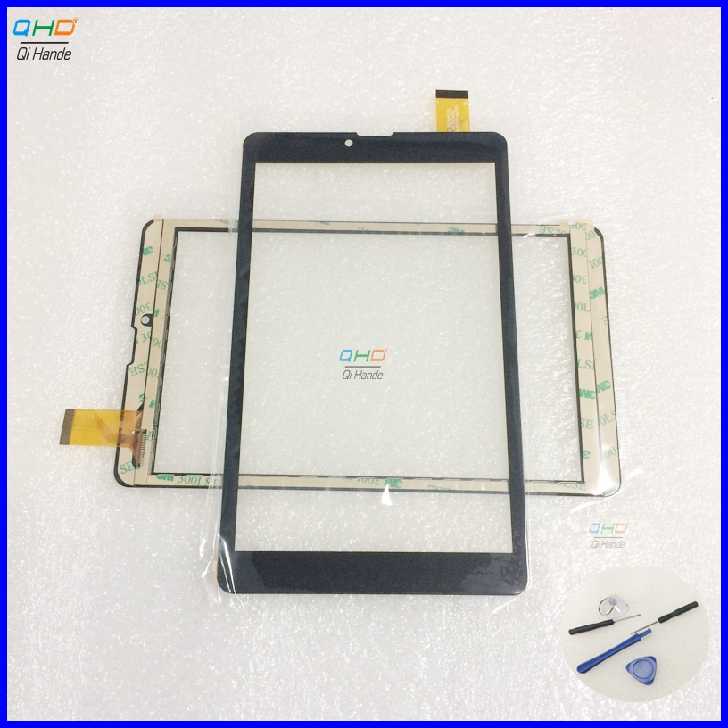 1pcs/lot New 8 Touch Screen for Digma Plane 8548S 3G PS8161PG Tablet touch screen panel Digitizer Glass Sensor replacement original new genuine 11 6 inch tablet touch screen glass lens digitizer panel for hp x360 310 g1 replacement repairing parts