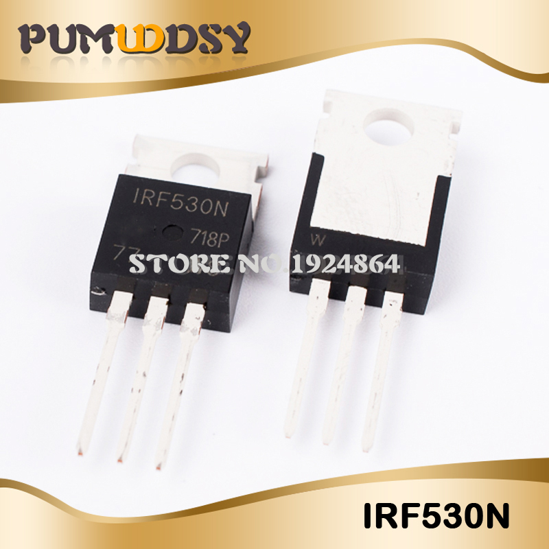 10PCS free shipping IRF530N IRF530 <font><b>IRF530NPBF</b></font> MOSFET MOSFT 100V 17A 90mOhm 24.7nC TO-220 new original IC image