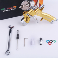 High quality professional Gti SRI lite golden painting gun T110 1.3mm nozzle spray gun paint gun stainless steel nozzle kit
