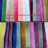 Velvet Synthetic Leather Fabric for DIY accessories making handbags shoes bows and so on P1604