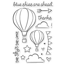 где купить Blue Skies Transparent Clear Silicone Stamp/Seal for DIY scrapbooking/photo album Decorative clear stamp по лучшей цене