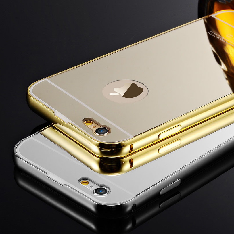iphone 5c gold coque for 5c luxury aluminum mirror for apple iphone 8119