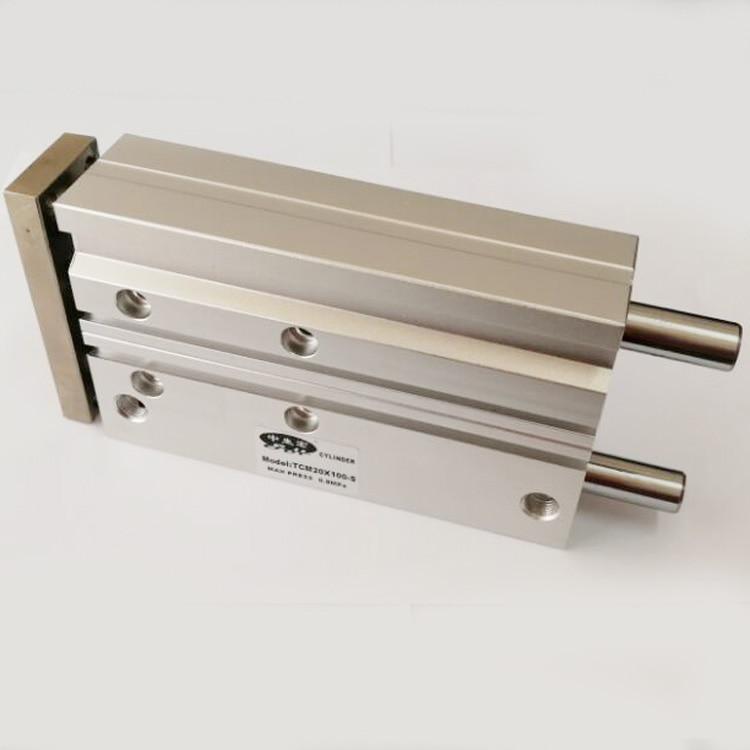 MGQM40 25 30 40 50 75 100MGQM SMC Type Slide Bearing Pneumatic Cylinder Compact Air Actuator