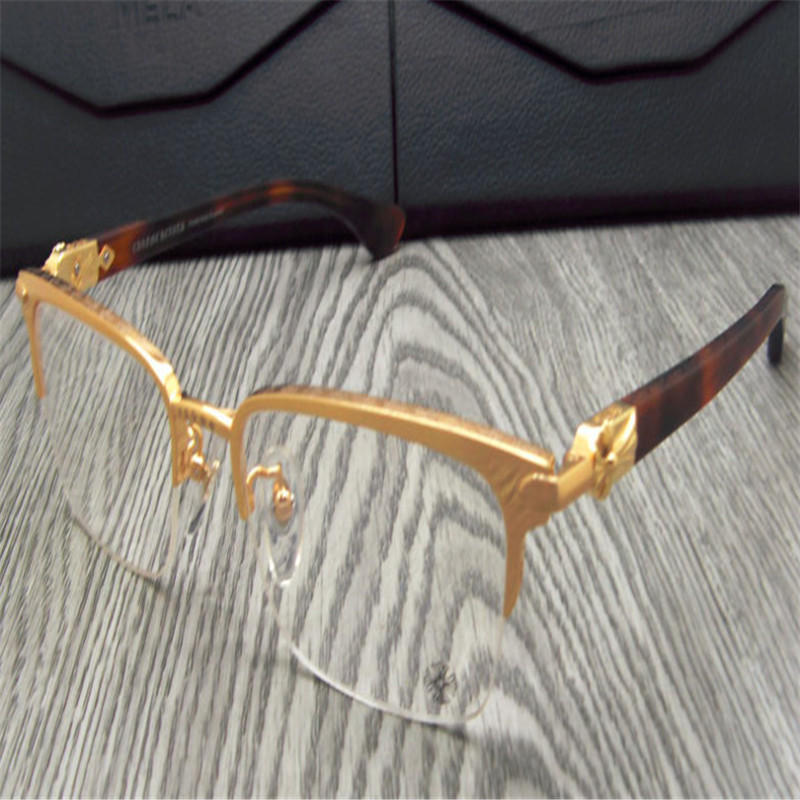 Men's Eyewear Frames Alloy Business Men Fashion Alloy Full Rim Brand Super Light Clear Lens Black Silver Myopia Optical Eyewear Eyeglasses Jny9123
