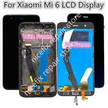 """Voor Xiaomi Mi 6 Mi6 Lcd Touch Screen Digitizer Vergadering 5.15 """"Xiaomi Mi6 Lcd Vervangende Onderdelen Display Voor xiaomi 6 Lcd"""