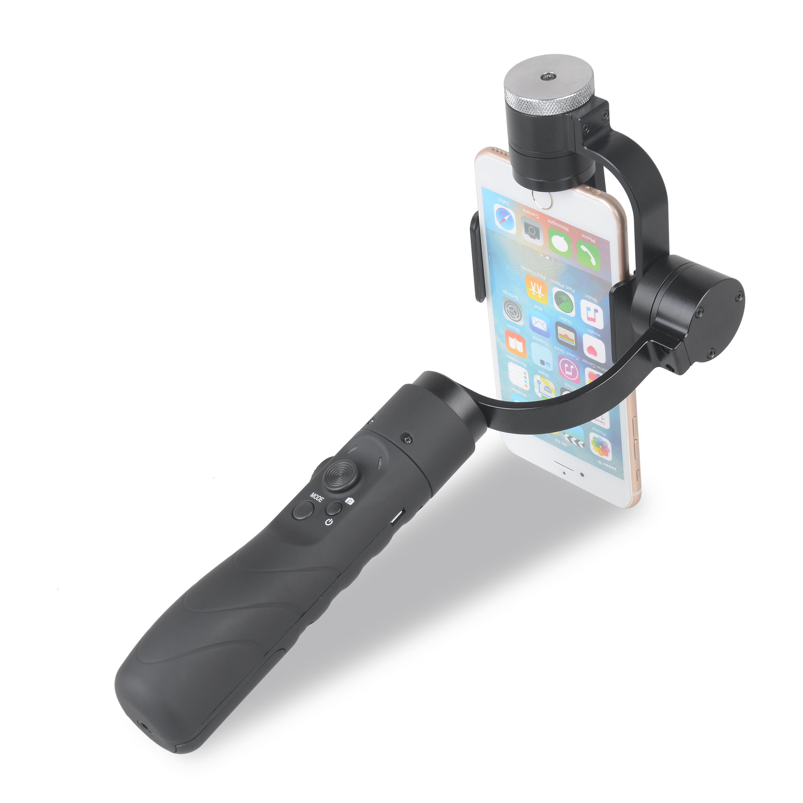 AFI V3 Caméra De Poche Stabilisateur Mobile Téléphone Triaxial Support Cardan Autodyne Gyroscope Soutien Direct pour GOPRO Gitup iPhone