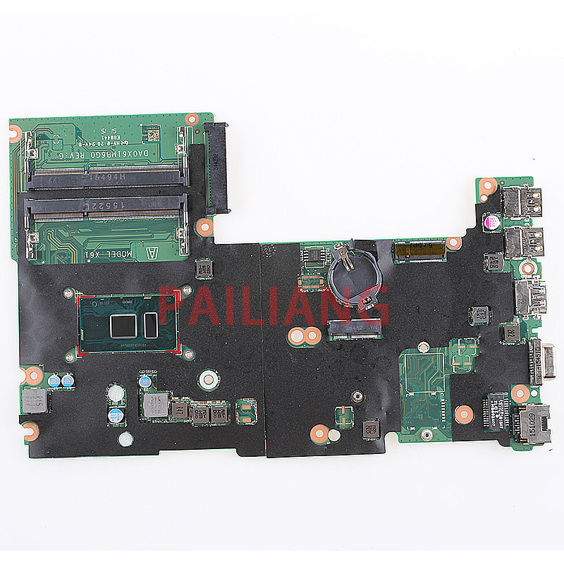 PAILIANG Laptop Motherboard For HP 430 G3 440 G3 I5-6200U PC Mainboard 830937-001 830937-601 DA0X61MB6G0 Tesed DDR3
