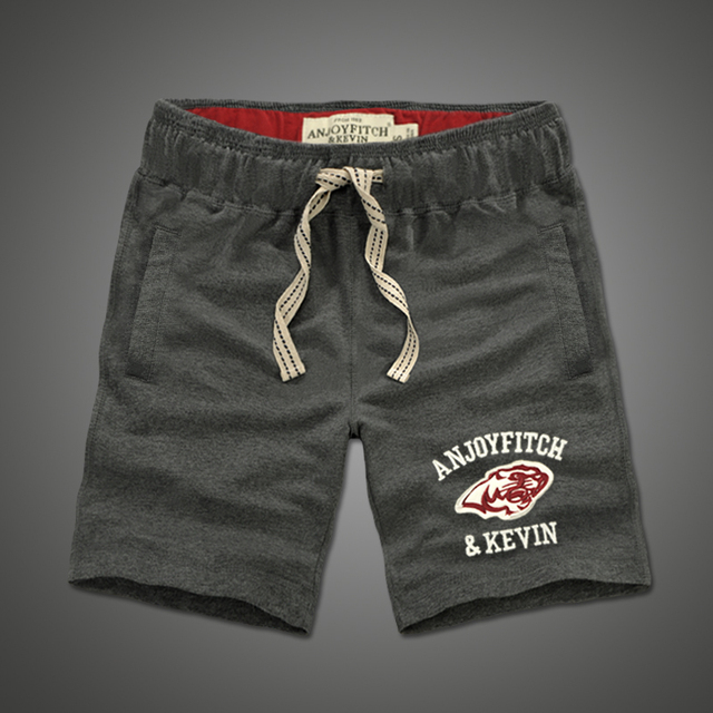 100% cotton Embroidery Casual Shorts men  2