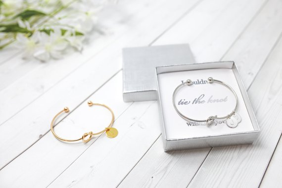 Tie The Knot Bridesmaid Gifts