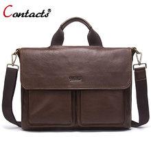 f55c285dd28b Контакта кожаная сумка мужская натуральная кожа сумка мужская через плечо  сумочка известные бренды кожаные сумки мужские