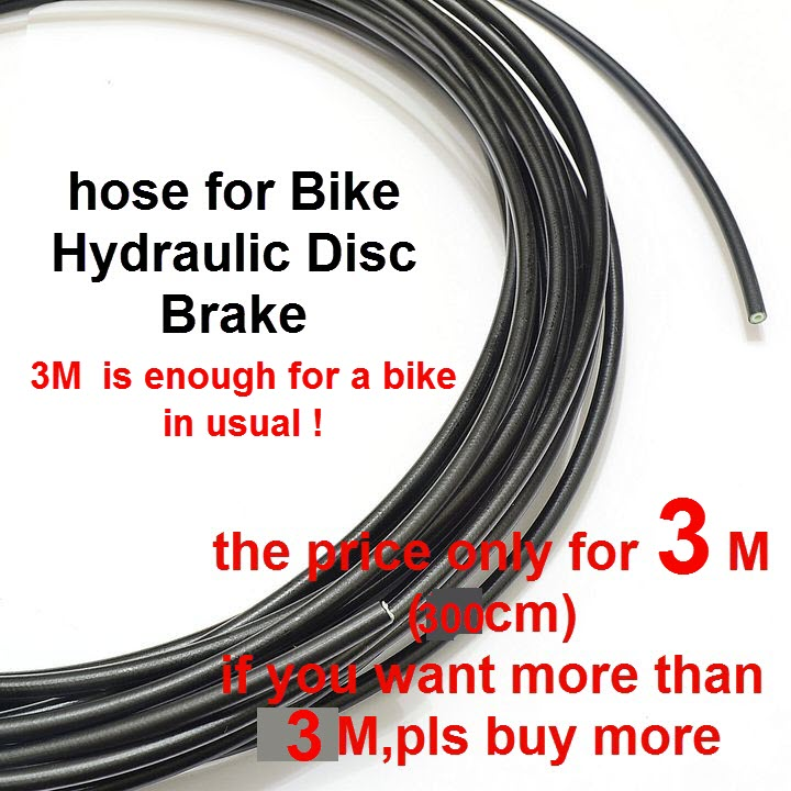 3m Bicycle Brake Cycling Cables Housing Hose For Tektro Hayes Hydraulic Bicycle Disc Hose Cycle Brake Fluid Oil Transefer Hose Bicycle Parts
