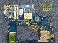 La-5401p mbnal00001 para acer aspire 5538 5534 ddr2 placa madre del ordenador portátil w/puerto hdmi
