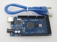 5sets Lot MEGA 2560 R3 ATmega2560 AVR USB Board Free USB Cable ATMEGA2560 2560