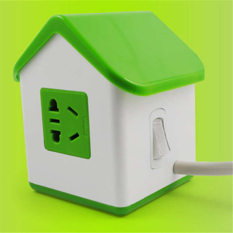 2USB Charger Port Plug Socket Power Strip Extension Receptacles ...