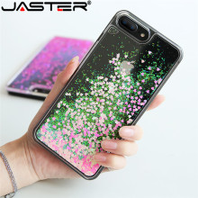 цена на JASTER Quicksand Case For iphone 5 5s SE 7 6 s Plus Case Cute Sequins Glitter Plastic Back Cover For iphone 7 6s 5 4s Cases