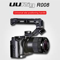 UURig R008 Universal Camera Handheld Bracket for Sony A6400 DSLR Camera Protector Cage Aluminum Alloy Photography Stabilizer