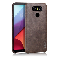 X Level High Quality Vintage Pu Leather Soft PC Phone Case For LG G6 Luxury Back