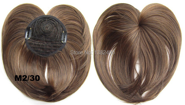 newstyle good quality top head skin thin wigs hair cover clip in