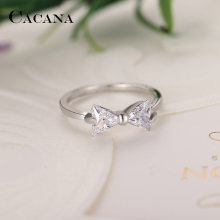 Bow Type Zinc Alloy Rings