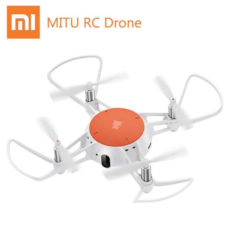 Original Xiaomi Mitu Drone Control remoto Mini Smart aviones Drone infrarrojo lucha precisa flotando 360D rodando 720 p HD Cámara