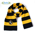 New Fashion Kids Ravenclaw Scarf  Gryffindor Scarf Magic School Slytherin Scarves Cosplay Costume With Badge