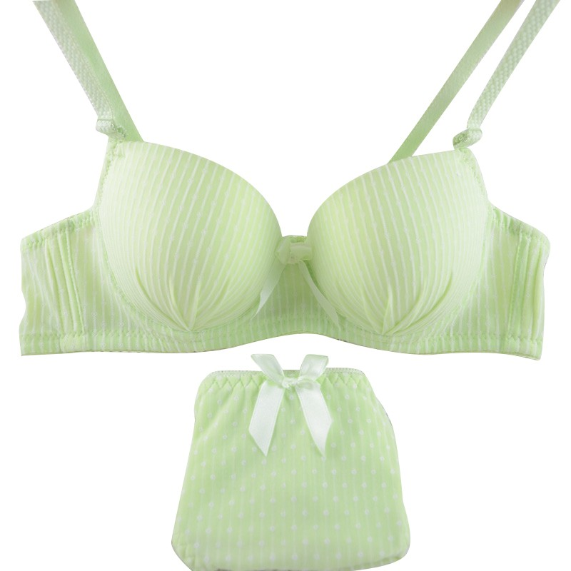 Sexy Women Seamless Striped Push Up   Bra     Sets   Underwear Lingerie 32 34 36 Cup B