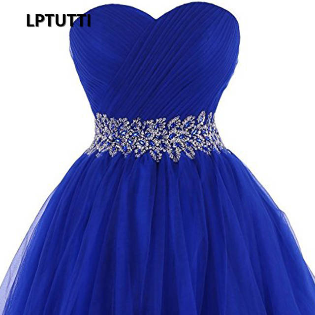 933c61057cb85 LPTUTTI STRAPLESS Crystal New Woman Plus Size Social Festive Elegant Formal  Prom Party Gowns Fancy Short Luxury Cocktail Dresses