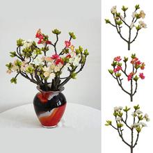 1Pc Artificial Cherry Flower Photo Props Wedding Ho