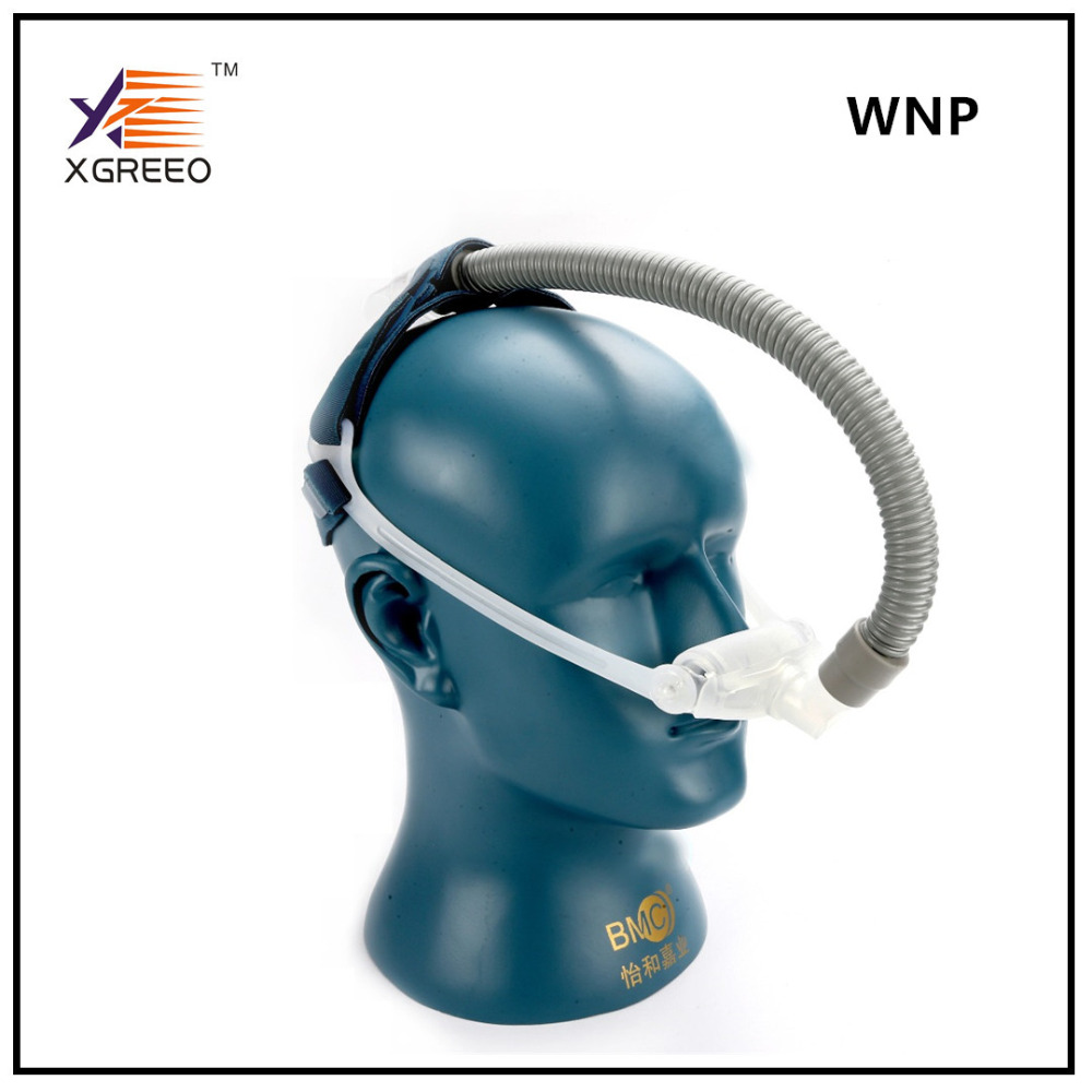 XGREEO WNP Nasal Pillow Mask Size(S/M/L) With Headgrear For cpap AUTO CPAP BPAP machine Anti Snoring Breathing Machine