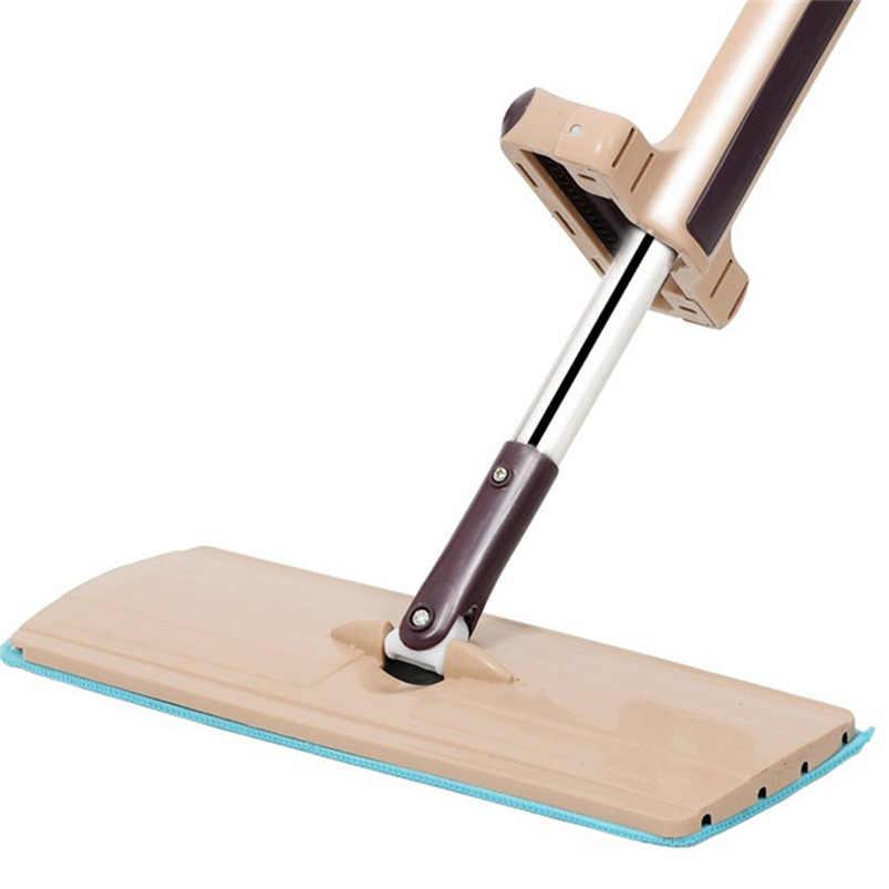ممسحة ناعمة سحرية خالية من اليدين 360 درجة رأس التنظيف الذاتي الرطب الجاف تنظيف سطح تنظيف شقة ضغط ممسحة دوّارة ليمبيزا Hogar