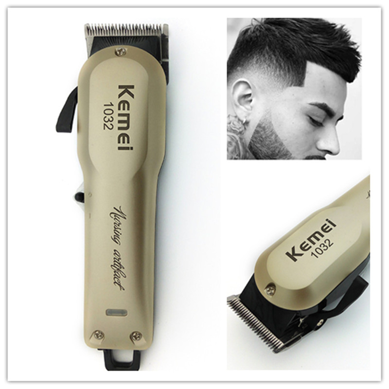 Kemei Rechargeable Electric Haircut Machine Hair Clipper Professional Hair Cutter Hair Cutting Machine Beard Trimmer все цены