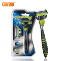 Canfill Replaceable Razor For Men Magnetic Induction 4 Stainess Blade Bearded Leakage wash Navaja Manual Shave Razors X491LO
