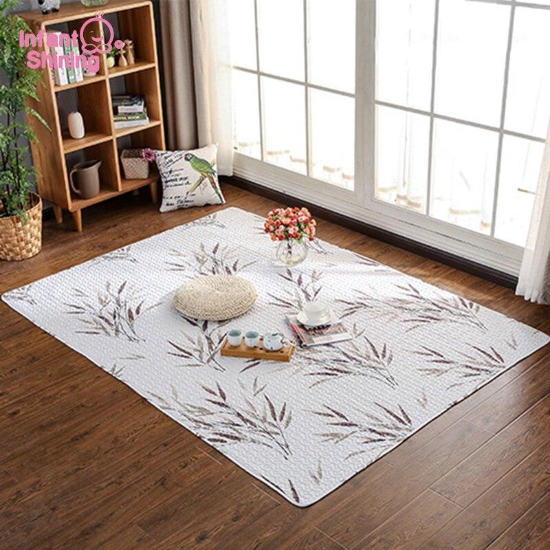 Infantile brillant Tatami tapis bébé jouer tapis Puzzle tapis coton tapis chambre tapis Machine lavable enfant tapis d'escalade doux ménage