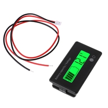 12V-84V Lead-acid Battery Capacity Indicator Voltage Meter Voltmeter LCD Monitor