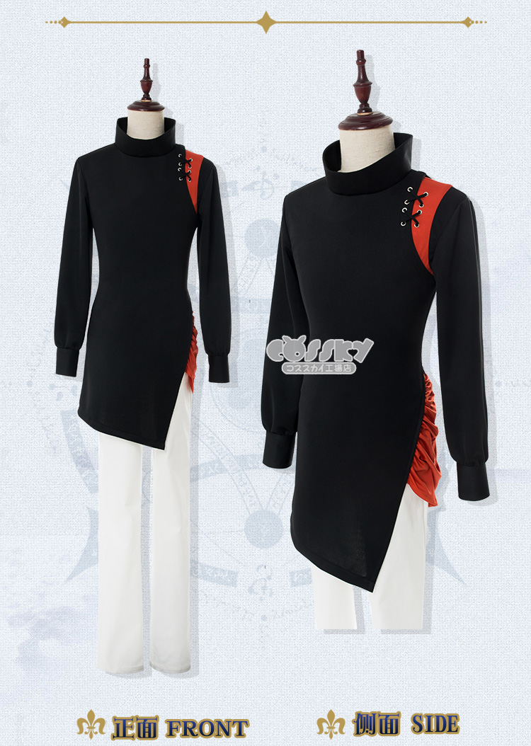 Fate//Grand Order FGO Kadoc Zemlupus Cosplay Costume Suit Dress Outfit