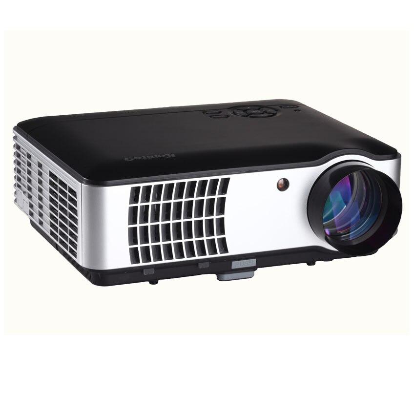 1280*800 de Resolución Nativa Full HD LLEVÓ el Proyector Casero Del Proyector 3D