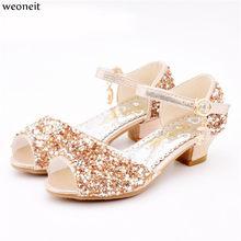 7f1445308 Weoneit princesa chicas sandalias niños zapatos para niñas Zapatos de vestir  poco alto talón verano partido boda sandalia niños .
