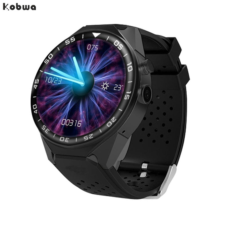Kobwa S99C Smart Watch Android 5.1 OS 1GB Ram 16GB Rom 5.0 MP 3G GPS Wristwatch 1.39 Heart Rate Pedometer Watch Phone Kw88 5032 5 3 2 2pin 10m 10mhz 10 000mhz