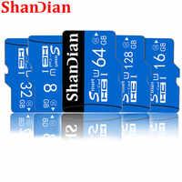 Hohe Qualität SHANDIAN Speicher Karte Klasse 10 Micro SD Karte 8GB 16GB 32GB 64GB 128GB micro Mini TF Karte mit Einzelhandel Paket