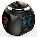 360 Câmera de Ação Wi-fi Mini Câmera Panorâmica 2448*2448 Ultra HD Câmera Panorama de 360 Graus À Prova D' Água Esporte de Condução VR câmera