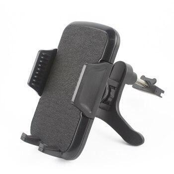 Rotary universal car air vent clip titulares do telefone móvel stands para htc u11, vivo x9s plus, oukitel k10000 pro/k4000 plus/leagoo m7