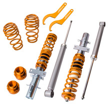 adj.Coilovers Kit for Audi VW Polo Mk5 6R 6C for Seat Ibiza 6J Coil Shock Absorber Suspension Damper Force