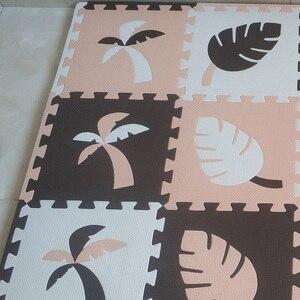 Image 2 - JCC 8/24pcs Toucan Style Baby EVA Foam Puzzle Play Mat /kids Rugs Carpet  Interlocking Mat for Children Tiles 30*30*1cm
