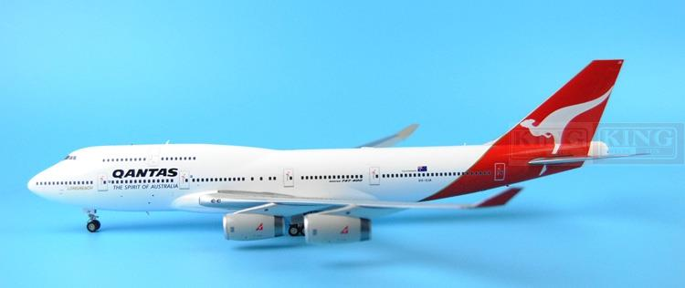 GeminiJets Australian aviation VH-OJA G2QFA567 1:200 B747-400 commercial jetliners plane model hobby телефон panasonic kx ts 2382 ruw спикер память 20