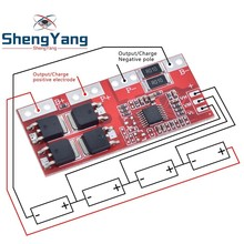 4S 30A High Current Li ion Lithium Battery 18650 Charger Protection Board Module 14.4V 14.8V 16.8V Overcharge Over Short Circuit