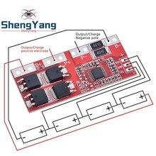 4S 30A Hoge Stroom Li Ion Lithium Batterij 18650 Charger Bescherming Board Module 14.4V 14.8V 16.8V Overbelasting over Kortsluiting