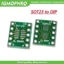 Placa de transferência soft 23 msop10 umax para dip10, adaptador de placa de mergulho sot-23 MSOP-10 para dip, com 10 peças-10 10