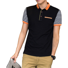 2016 New Brand New Floral Collar Men's POLO Shirts Summer Style Short Sleeve Shirts Male Camisas Polo Plus Size M – 5XL, PA199